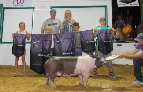 3rd Overall Miami County Fair
