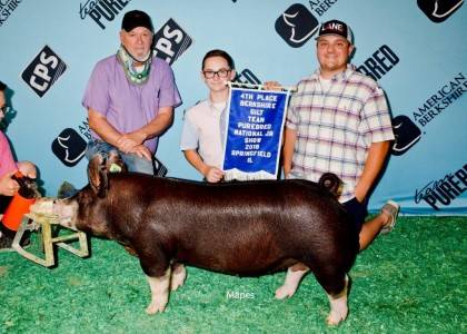 4th Overall Berk Gilt CPS