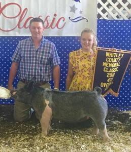 4th Overall Gilt Whitley Co. Classic
