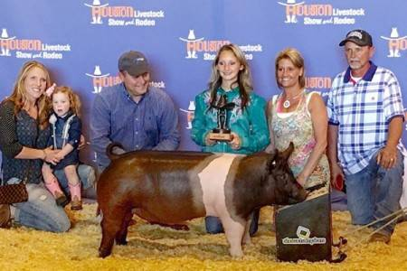 2016 Class Champion Hampshire Barrow