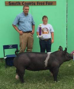 2016 Grand Overall, Smith County Fair