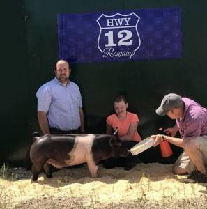 Grand Champion Overall 2018 Highway 12 Roundup