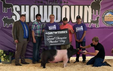 Grand Champion Barrow North Central Iowa Showdown