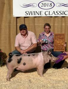 Grand Overall Barrow EKSSS Jackpot Series Winfield, KS