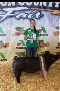 Reserve Champ Homeraised Market Barrow Union County Fair