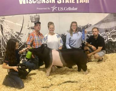 Reserve Champ Middle Weight WI