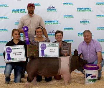 2016 Grand Champion Barrow