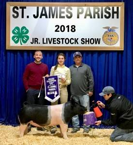 Grand Champion Overall 2018 St. James Parish, LA