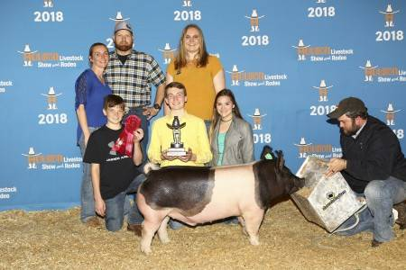 Reserve Lightweight Dark Cross Barrow 2018 Rodeo Houston
