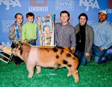 Grand Champion Cross Barrow 2018 NJSA Southeast Regional