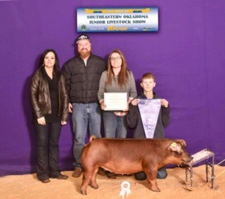 Reserve Grand Overall Gilt  2018 Southeast District, OK