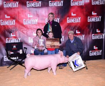 Grand Overall Barrow 2017 Kings of the Hill Futurity, TX