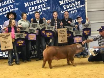 Grand Overall Barrow 2018 Mitchell County, TX