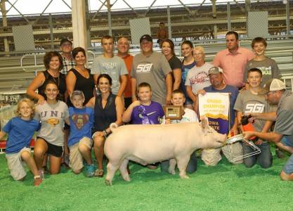 2016 Grand Champion Overall Market Hog