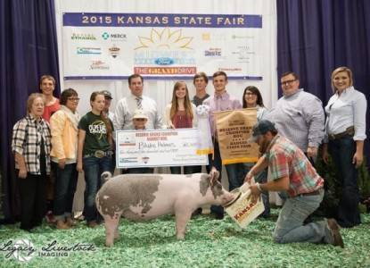 2015 Reserve Grand Champion Market Hog