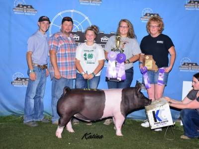 2015 Grand Champion 4H Barrow