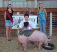 Hardin County Iowa 4-H Fair 2008