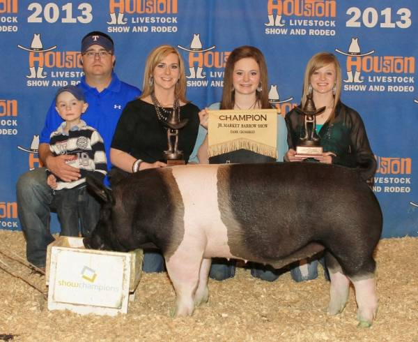 Show Pigs in Texas Bred by Lettow Show Pigs